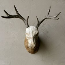 Indigo Magnesia Deer Trophy Wall Décor
