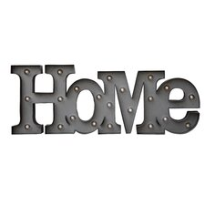 "Urban Homestead ""HOME"" Wall Decor"