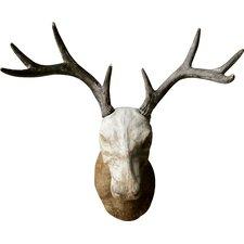 Indigo Magnesia Deer Trophy Wall Décor