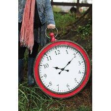 "Heart & Home Oversized 25"" Pocket Watch Wall Clock"