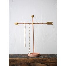 Flirt Metal Arrow Jewelry Holder