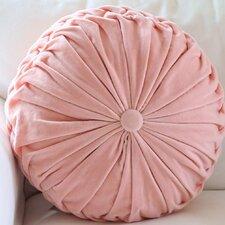 Flirt Cotton Velvet Throw Pillow