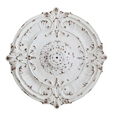 Chateau Medallion with Hole For Chandelier
