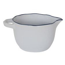 Farm Round Ceramic Hand Shaped Batter Bowl
