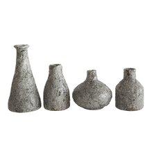 Smudge 4 Piece Terra Cotta Vase Set (Set of 4)