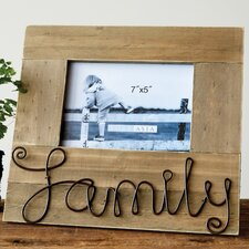 """Family"" Picture Frame"