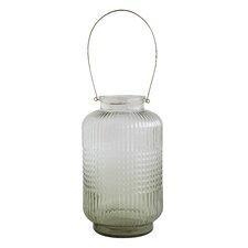 Foliage Metal and Glass Lantern