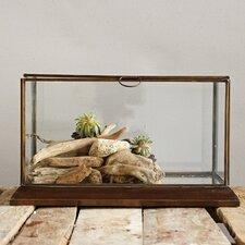 Metal Framed Glass Display Box