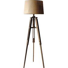 "Turn of the Century 62.25"" Tripod Floor Lamp"