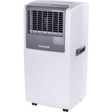 8,000 BTU Portable Air Conditioner with Front Grille and Remote Control