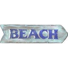 """Vintage """"Beach"""" Wall Décor"""