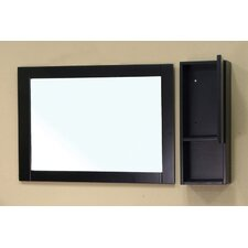 "Payne 8.7"" x 23.6"" Surface Mounted Medicine Cabinet"