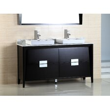 "60"" Double Sink Vanity Set"