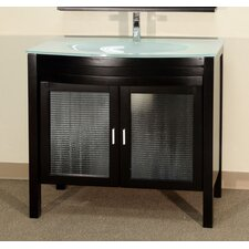 "Burke 40"" Single Bathroom Vanity Set"