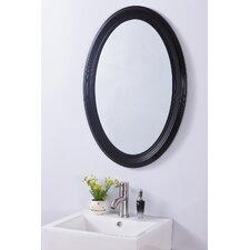 Oval PVC Frame Mirror