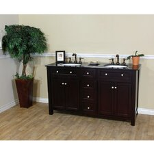 "Delaney 62"" Double Bathroom Vanity Set"