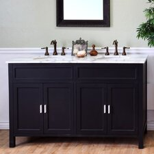 "Jameson 60"" Double Bathroom Vanity Set"
