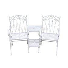 Romance 2 Seater Steel Love Seat