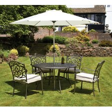 Chatsworth 4 Seater Dining Set with Cushions