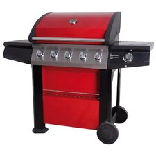 Connoisseur 600 Deluxe Gas Barbecue with Hood and Side Burner