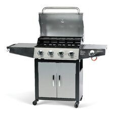 Classic 4 Gas Barbecue with Side Burner and Cabinet