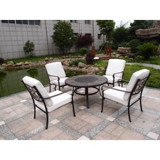 Versailles 4 Seater Dining Set