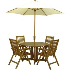 Henley Manhattan 4 Seater Dining Set