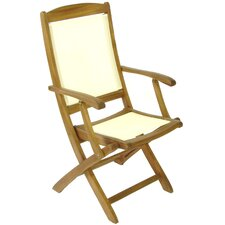 Henley High Back Folding Armchair
