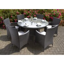 Roma 6 Seater Dining Set with cushions