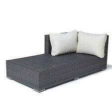 Palermo Chaise Sectional Piece with Cushions