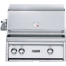 "27"" Built-In Gas Grill with ProSear Burner And Rotisserie"