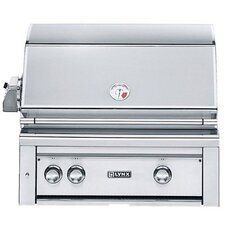 """30"""" Built-In Gas Grill with Rotisserie"""