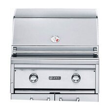 "27"" Built-In Gas Grill with Rotisserie"
