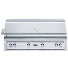 """54"""" Built-In Gas Grill with ProSear2 - Rotisserie Burner"""