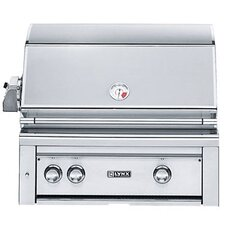 """30"""" Built-In Gas Grill with ProSear2 - Rotisserie Burner"""