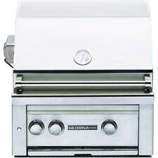 "24"" Sedona Built-in Gas Grill with ProSear-Rotisserie Burner"