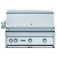 "36"" Built-In Gas Grill with  ProSear2-Rotisserie Burner"