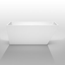 "Hannah 59"" x 29.5"" Soaking Bathtub"