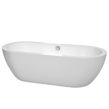 "Soho Freestanding 72"" H x 31"" Soaking Bathtub"