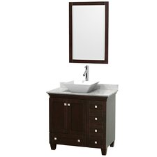 "Acclaim 36"" Single Bathroom Vanity Set with Mirror"