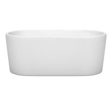 "Ursula 59"" x 27.5"" Soaking Bathtub"