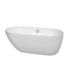 "Melissa 60"" x 29"" Freestanding Bathtub"