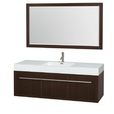 "Axa 60"" Single Bathroom Vanity"