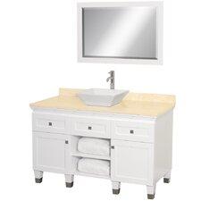 "Premiere 48"" Single Bathroom Vanity Set with Mirror"