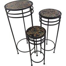 3 Piece Metal Plant Stand Set (Set of 3)