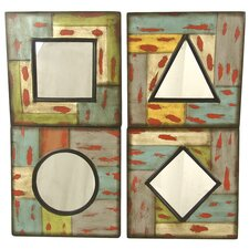 4 Piece Geometric Wall Décor Set