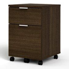 Contempo 2-Drawer Mobile Pedestal