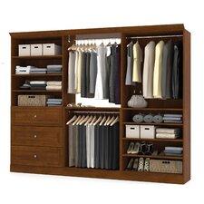Versatile 107.4'' Wide Closet System