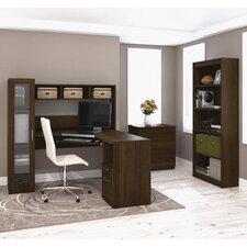 Jazz 3 Piece L-Shape Desk Office Suite