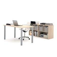 I3 2 Piece U-Shaped Desk Office Suite